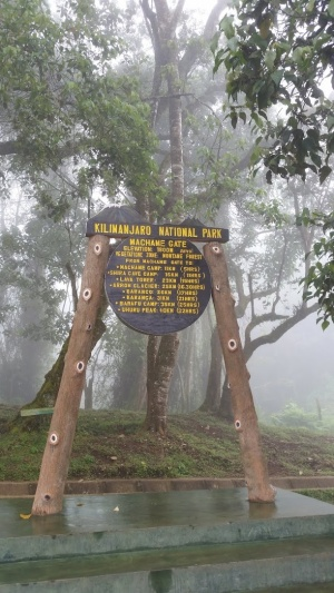 Machame Gate 1,800m (5,900ft)
