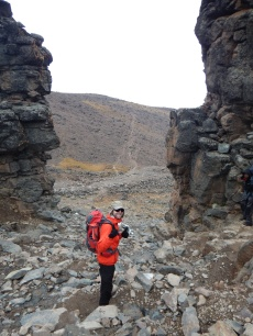 Lasse at Lava Tower