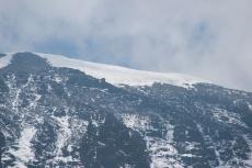 Kilimanjaro Glacier from a Distance
