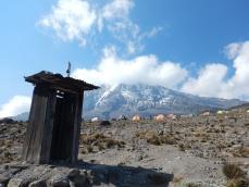 Dukie Hut Close to Camp