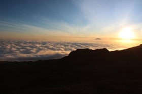 Sunset from Barafu Hut