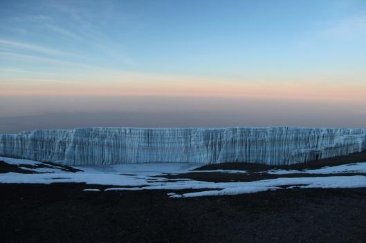 Incredible Glacier on Kilimanjaro
