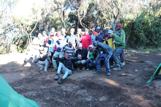 Group Photo With All the People That Helped Make it a Successful Hike!