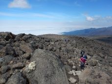 Hiking up to Lava Tower