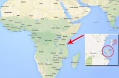 Zanzibar Location