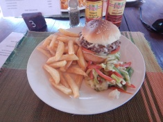 Mouth Watering Fresh Burger