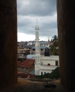 View of the Mosque and Stone Town From the Steeple