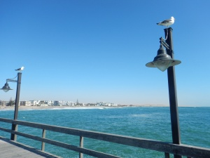 View off the Pier-Swakopmund
