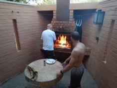 Braai Fire is Blazing!!