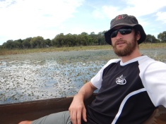 Enjoying the Okavango Delta