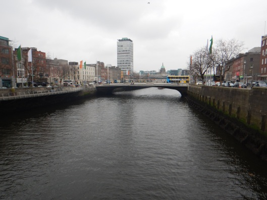 River Liffey Through Dublin
