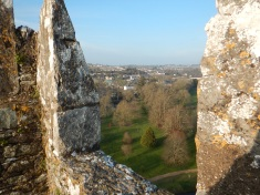 Overlooking the Blarney Grounds