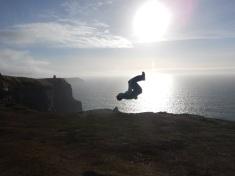Alex Flipping on the Edge