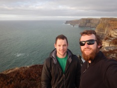 Alex and I at the Cliffs