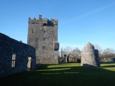 Aughnanure Castle on the way to Connemara