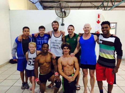 Pinetown Boys Gymnastics Team