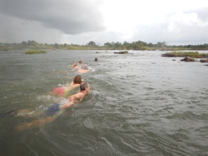 The Daring Swim