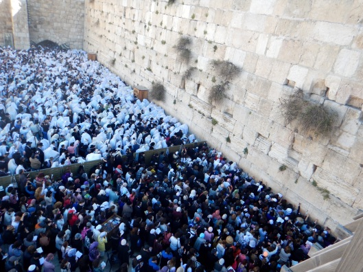 Kohanim Blessing the People