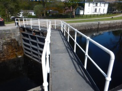 Neptunes Staircase. 2 Different Water Levels