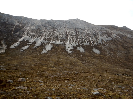 Snow Covered Mountain in May