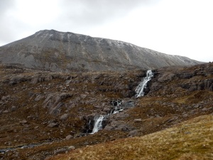 Waterfall Flowing from the Lochan