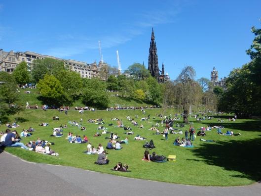 Back in Edinburgh
