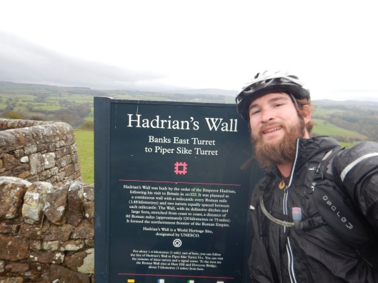 Found Hadrians Wall!