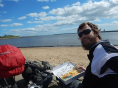 Delicious Fish and Chips in Tynemouth