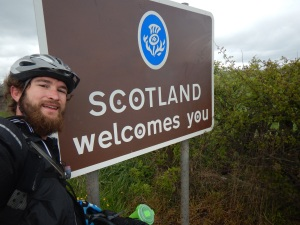 Scotland! Through Rain and All