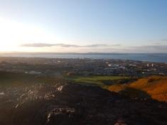 Looking Down On Edinburgh