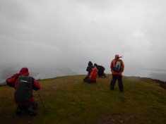 Braving the Winds on the Summit