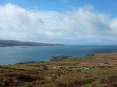 Coming Upon Boreraig and the Coast