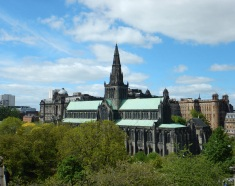 Looking Down on Glasgow Cathedral
