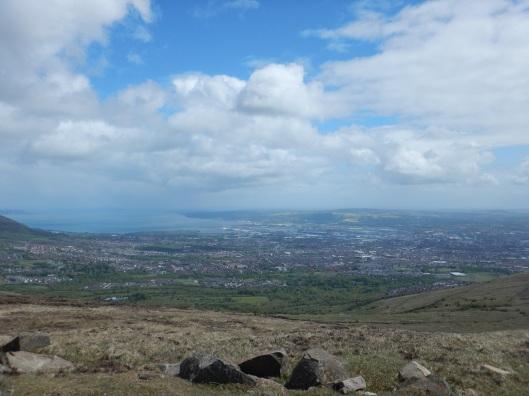 Overlooking Belfast