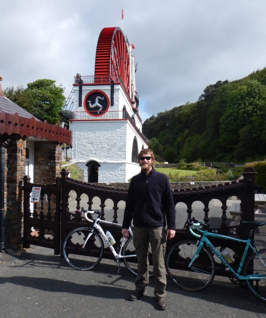 Stopped to see the Laxey Wheel
