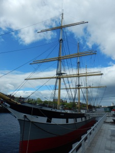 The Glenlee Tall Ship
