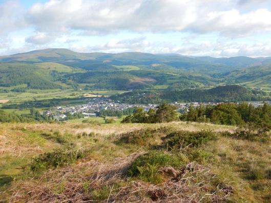Overlooking Machynlleth