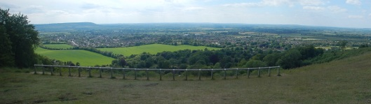 On top of Coombe Hill