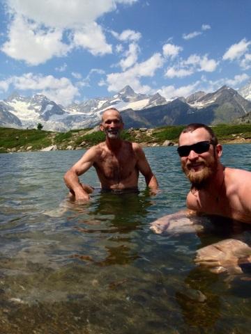 Fresh Alpine Water is Refreshing!