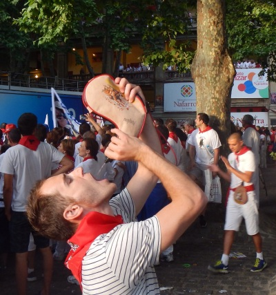 Oh and don't forget, hydration is key in Pamplona