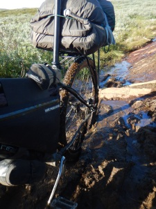 Some mud just can't be avoided