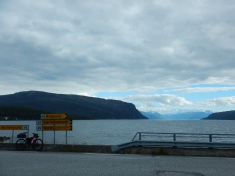 Just following signs along the fjord