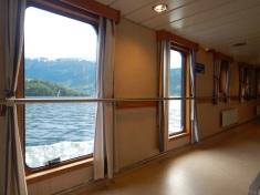Cruising on the ferry