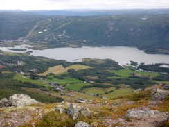 Overlooking Geilo