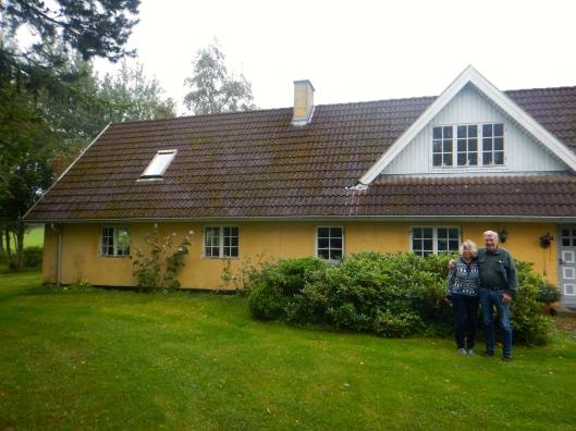 Vera and Lars at the farm house