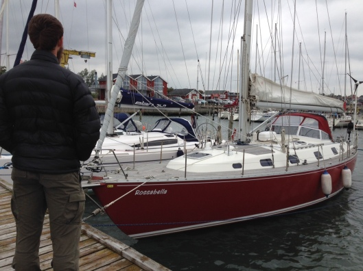 One of Lars and Vera's friends sail boats that has traveled all over! The Rossabella