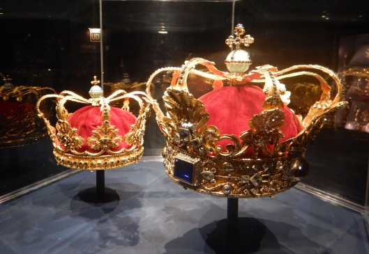 Crown of Absolute Monarchs and the Queen's Crown