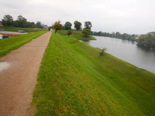 Kastellet-A fortress in Copenhagen with walls in the shape of a star