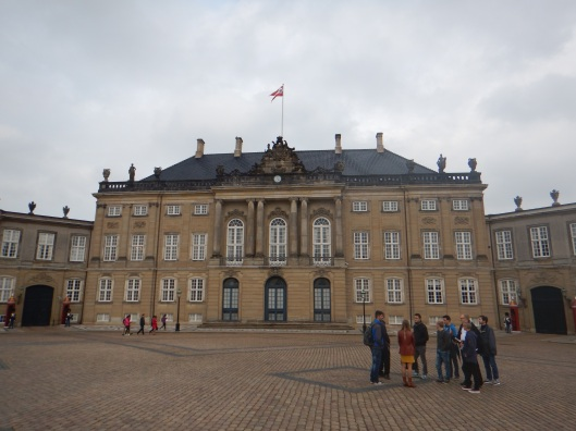 Amalienborg Palace-Used by the Royal Family