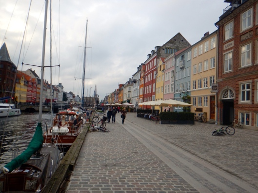 Nyhavn-a heritage harbor that was used in the 17th and 18th century